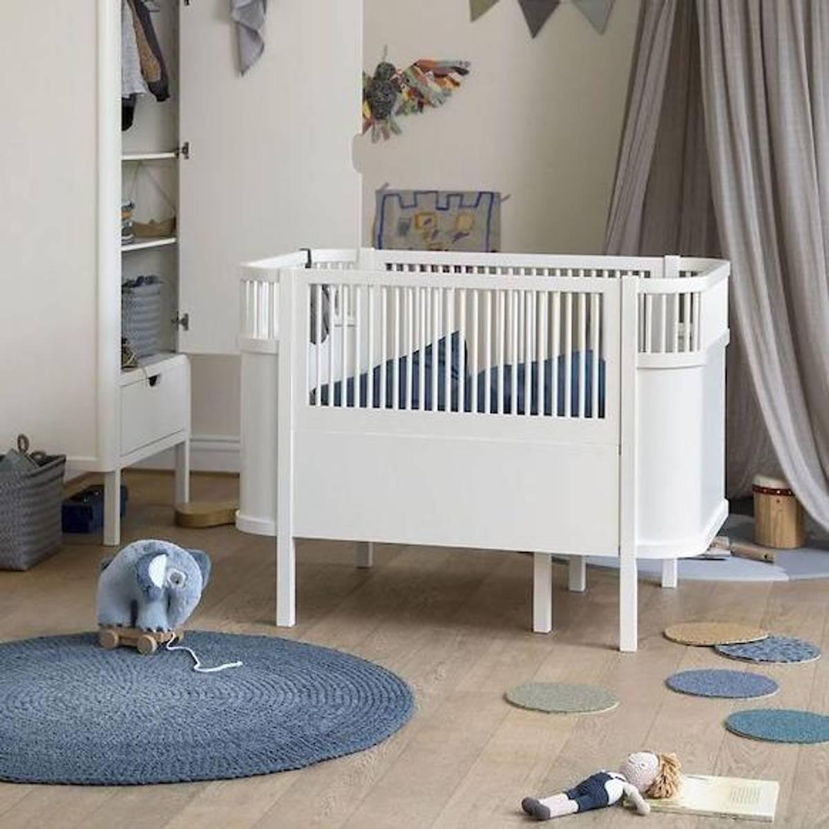 Sebra seng Baby & classic White