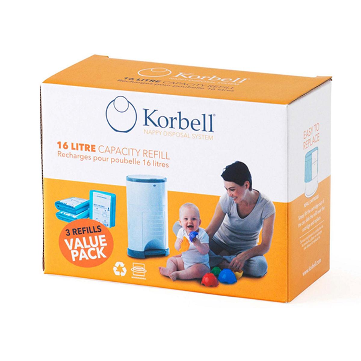 Korbell Refill | 3pk